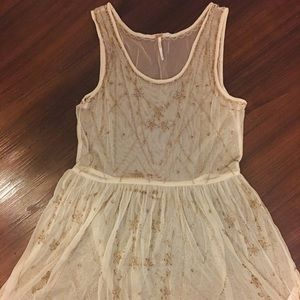 Free People Beaded Slip Dress